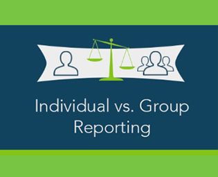 Mingle Individual vs Group Reporting