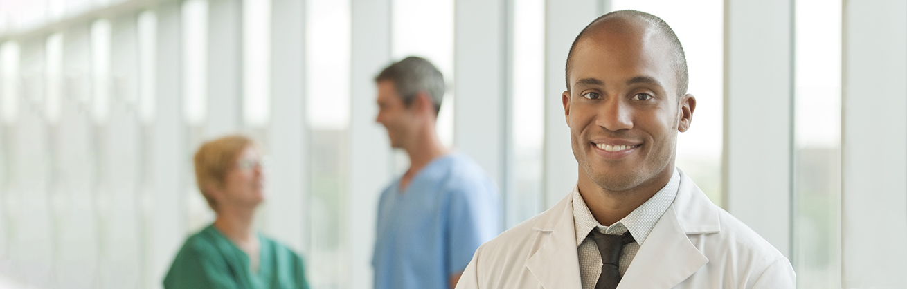 Medical Doctor smiling