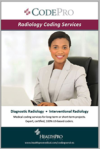 Radiology Coding Services brochure