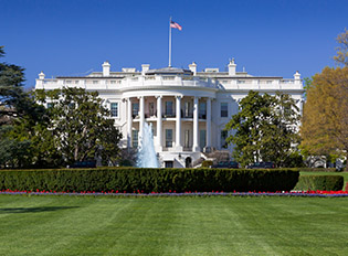 White House, Washington DC, USA.